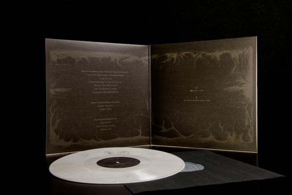 Thou Shell Of Death - Cave Hill (Weiße Vinyl mit schwarzer Marmorierung) Präsentation 4