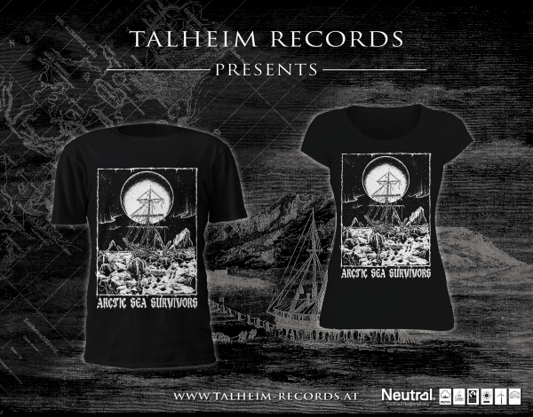 Arctic Sea Survivors - Into Barren Lands T-Shirt Präsentation